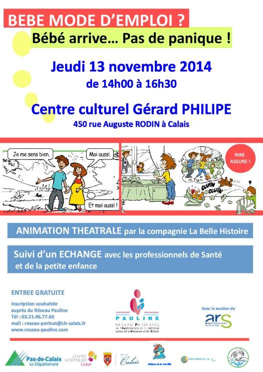 affiche BB mode d'emploi Calais 13.11.14